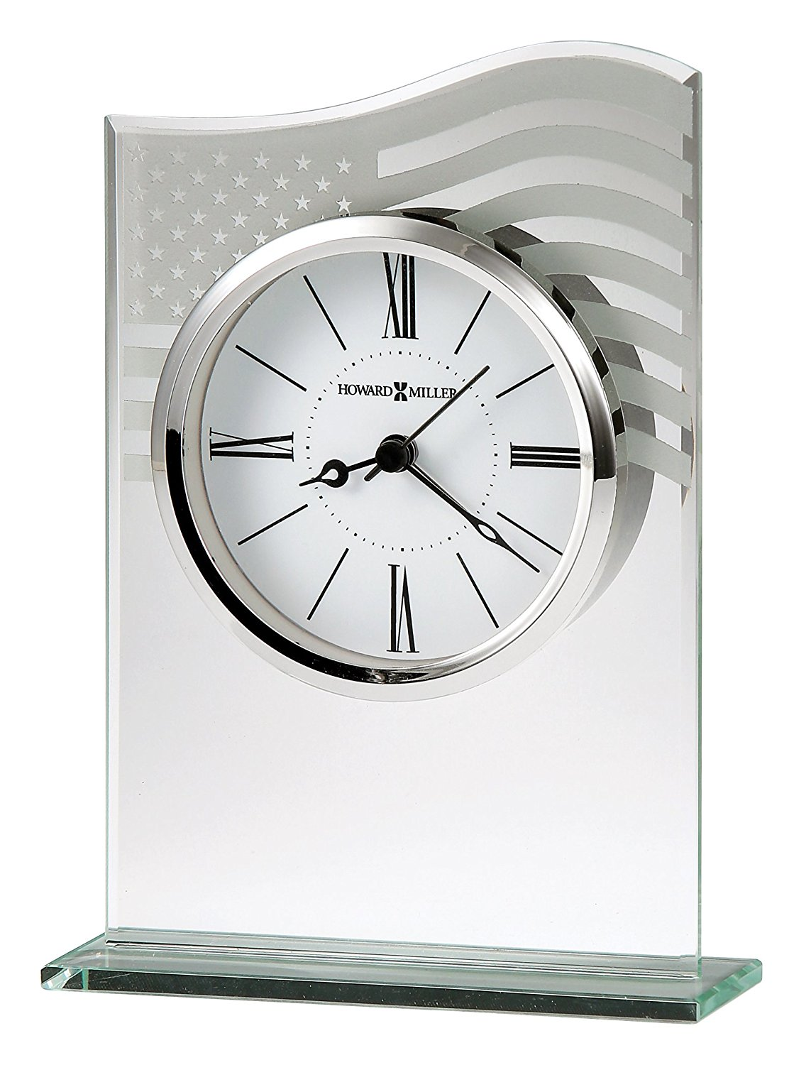 645779 Not Applicable 645-779 Liberty, The white dial is suspended within the glass and offers Black Roman numerals and... by