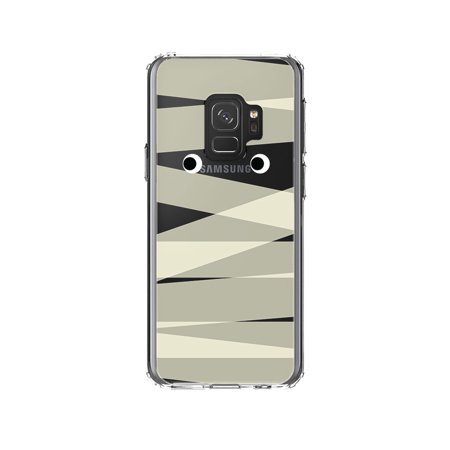 DistinctInk Clear Shockproof Hybrid Case for Samsung Galaxy S9 (5.8