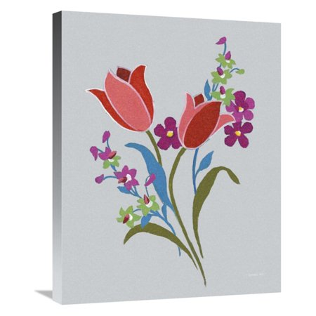 Gallet Bouquet - Global Gallery Alpine Bouquet IV Wall Art