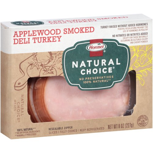 Hormel Foods Hormel Natural Choice Deli Turkey, 8 oz