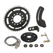 Mallory 76302 Firestorm Hi Resolution Crank Trigger Kit; Chevy SB 8 in.;Incl. Brackets/Spacers/Non-Magnetic Pickup/Magnets;Not Legal For Sale/Use In CA On Any Pollution Controlled Vehicle;