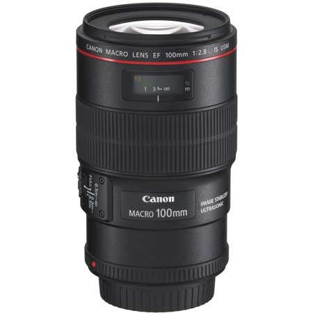 Canon EF Lens 100mm f/2.8 Macro L IS U