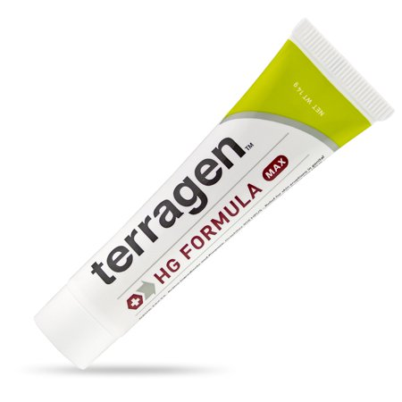 Terragen™ HG Herpes Treatment MAX with All-Natural Activated Minerals® for Pain Free Relief of Herpes Outbreak & Itch Sores (14gm tube