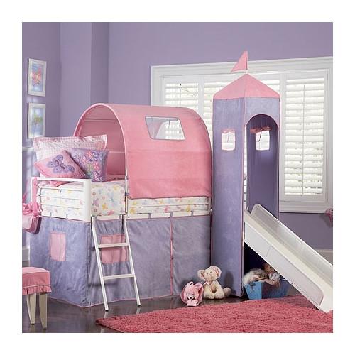 Powell Furniture Princess Twin Loft Bed