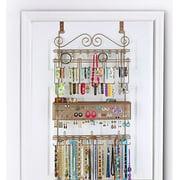 Longstem Overdoor Jewelry Organizer, Bronze, 300 pieces