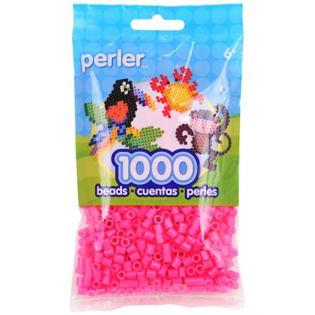 Cut Out Assortment - Beads1,000/pkg, Magenta, If you've run out of beads and need more to finish your creation then look no further than this assortment By Perler Ship from US