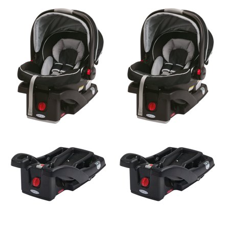 Graco Click Connect Infant Car Seats Seat Bases 2 Pairs