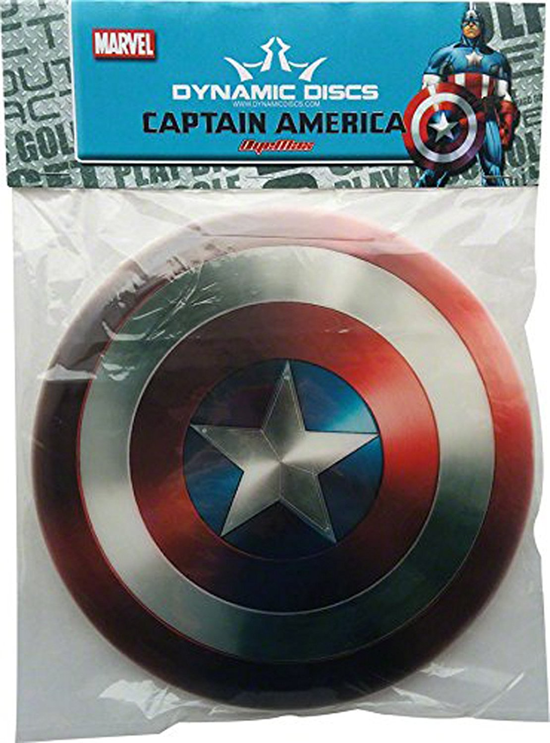 Captain America Golf Disc: Fairway Driver..., By Dynamic Discs Ship from US by