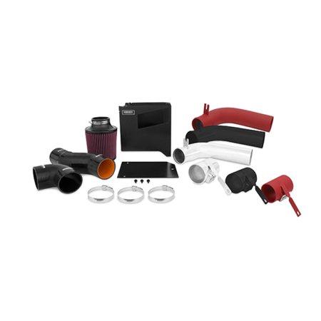 - Mishimoto 15 Subaru WRX Performance Air Intake Kit w/ Box - Wrinkle Red