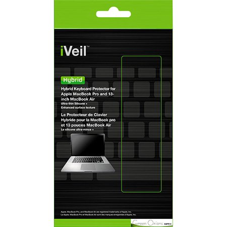 Green Onions Supply iVeil Hybrid Keyboard Protector for Apple Macbook Pro/Air 13