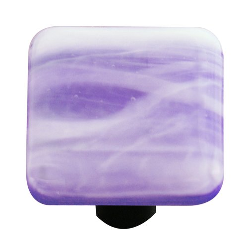 Aquila Art Glass Swirl Square Knob