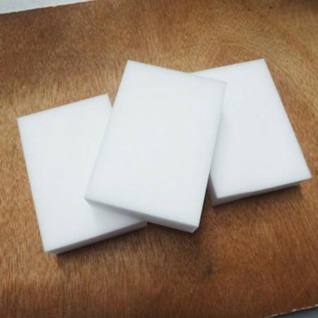 - Fancyleo 20 Pcs White Melamine Sponge Eraser Multi-functional Cleaning Magic Sponge Bathtub Bathroom Wall Cleaner