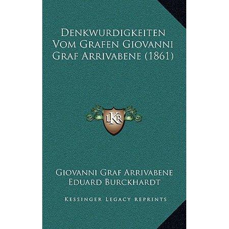 Denkwurdigkeiten Vom Grafen Giovanni Graf Arrivabene (1861) (Landra Graf)
