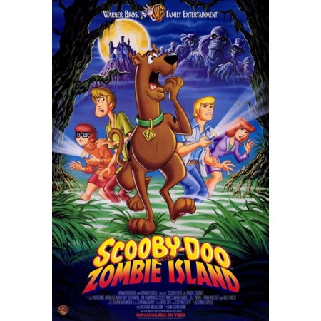 Scooby-Doo on Zombie Island Movie Poster Print (27 x 40)