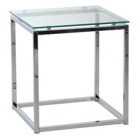 Euro Style Sandor End Table - Clear ()