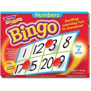 Trend, TEPT6068, Numbers Bingo Learning Game, 1 Each