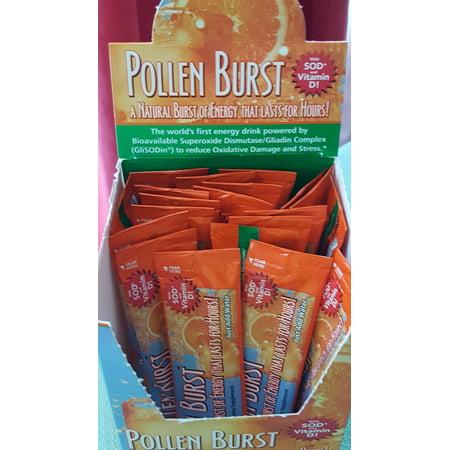 2 Boxes Projoba Pollen Burst Youngevity Energy Drink 30 Servings Per Box (Ships Worldwide)