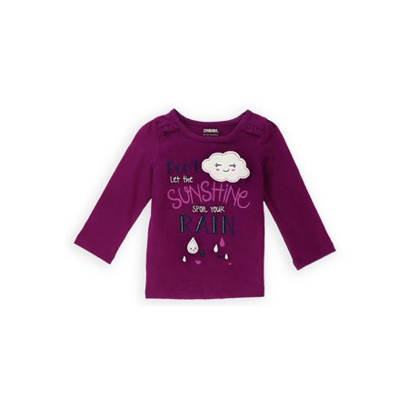 Gymboree Girls Sunshine Sparkle Embellished T-Shirt 053 6-12 mos - Infant