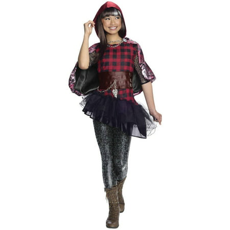 Ever After High Deluxe Cerise Hood Child Halloween Costume - Dead Little Red Riding Hood Halloween Costume