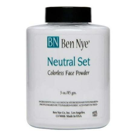 Ben Nye Classic Translucent Face Powder 3 Oz Neutral Set Face Powders