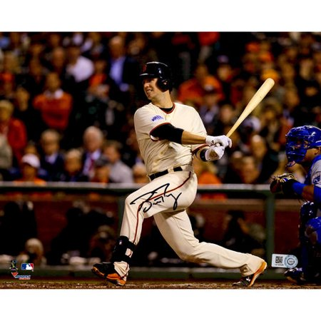 "Buster Posey San Francisco Giants Autographed 8"" x 10"" 2014 World Series Champions Photograph"