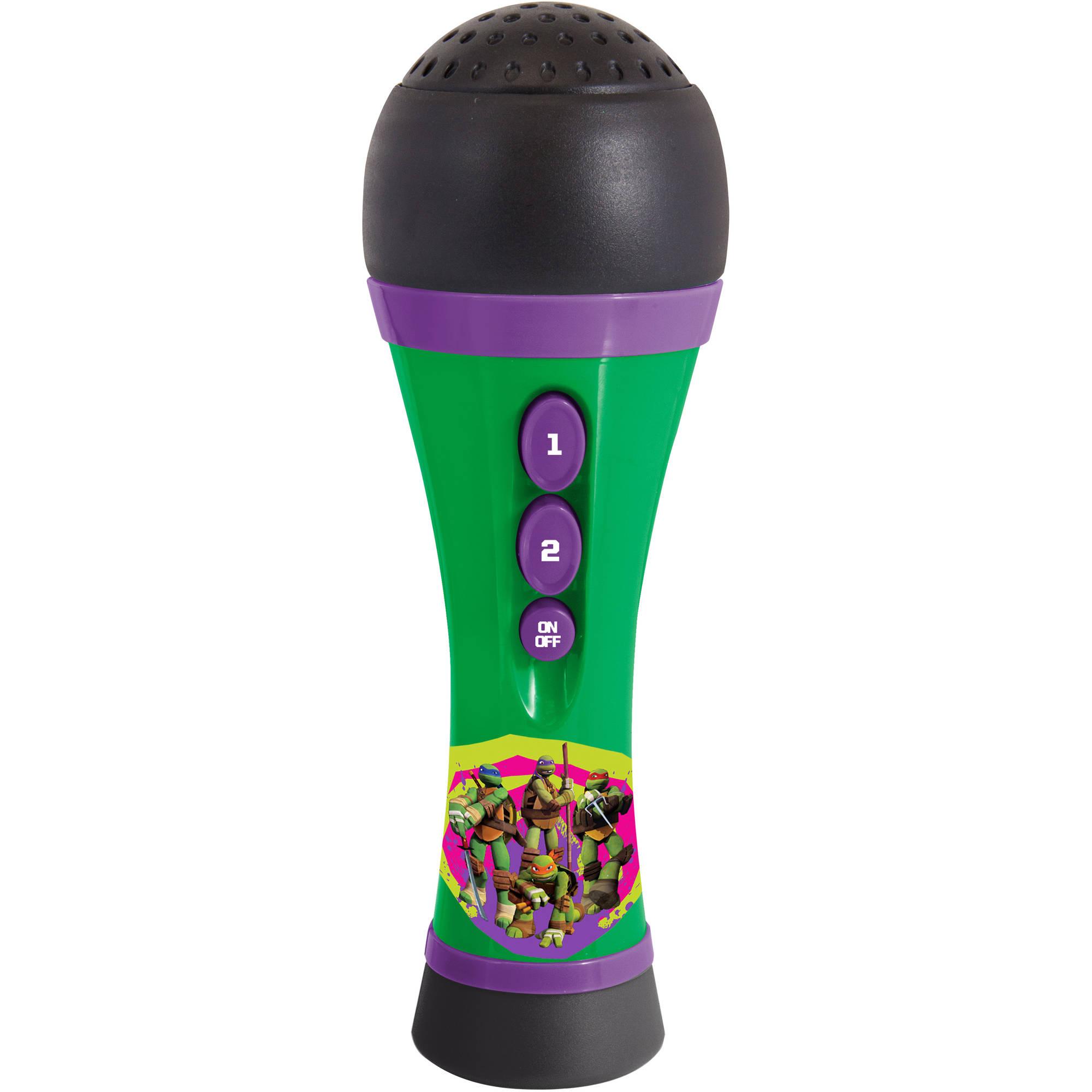 First Act Nickelodeon Teenage Mutant Ninja Turtles Microphone NT955, Green