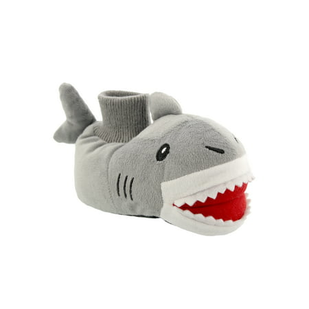 Yankee Toy Box Plush Shark Fish Toddler Boys Sock Top Slippers 84005 - Sofia The First Slippers