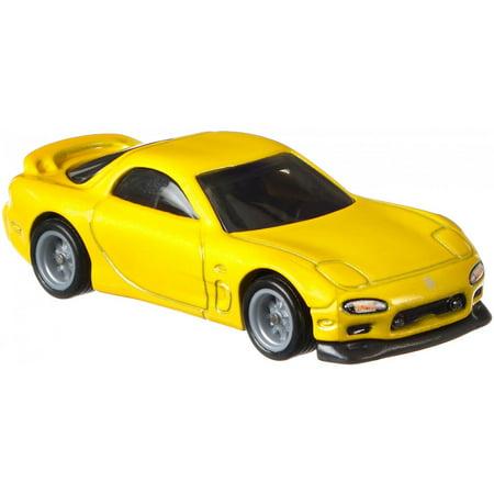 Hot Wheels Premium Car Culture '95 Mazda RX-7 Collector Vehicle Select Mazda Vehicles
