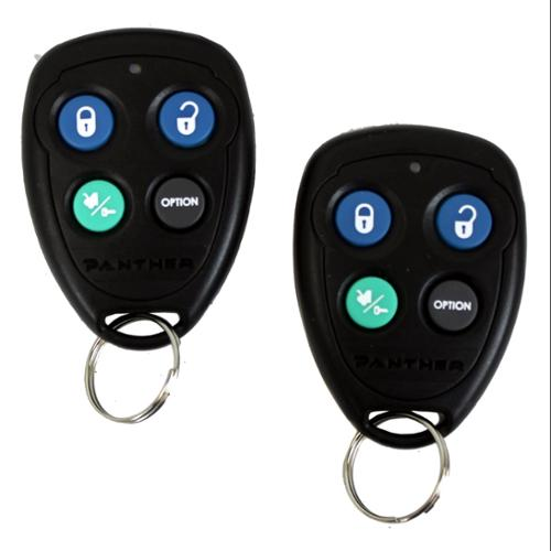 Audiovox PA120C 4 Button Anti-Hijack Feature Car Security System w/2 Remotes [Refurbished]