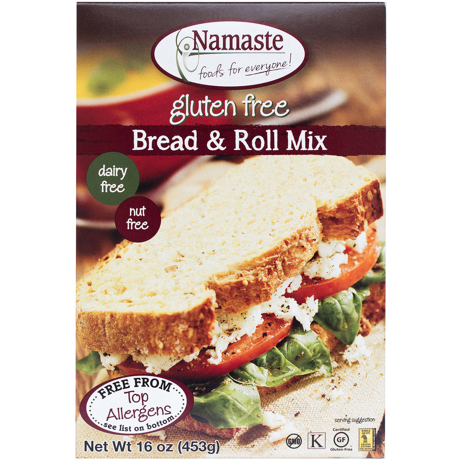 Namaste Foods Bread Mix, 16 oz (Pack of 6)