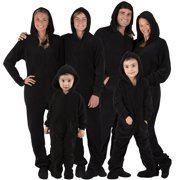 "Footed Pajamas - Family Matching Snow White Hoodie Onesies for Boys, Girls, Men, Women and Pets - Adult - Large (Fits 6'0 - 6'4"")"