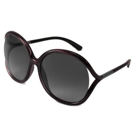 Tom Ford Sunglasses Rhi / Frame: Plum Fade Lens: Gray (Tom Ford Sunglasses Blue Lenses)