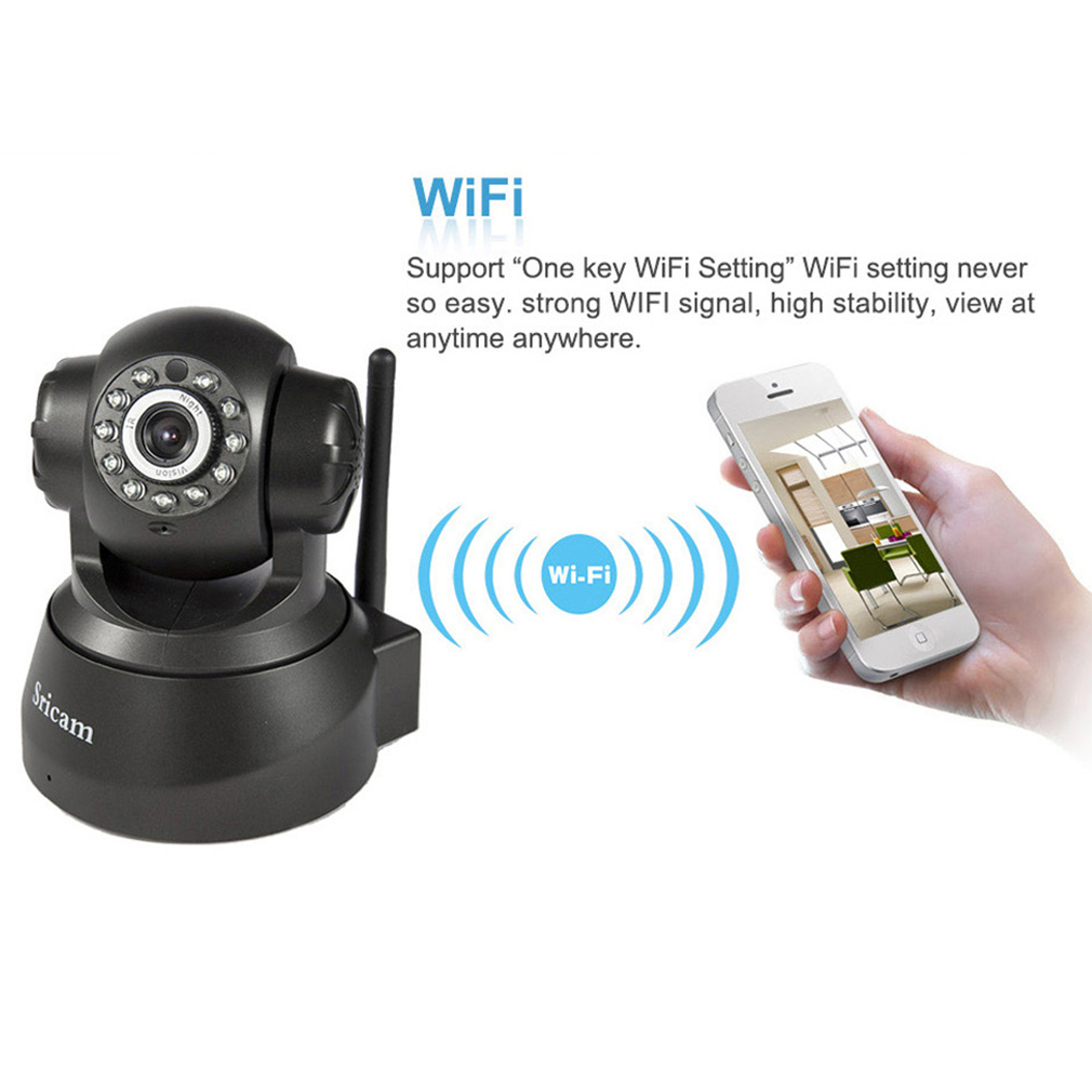 11 LED Night Vision WiFi Wireless IP CAM Home Security PNP Dual Audio Camera