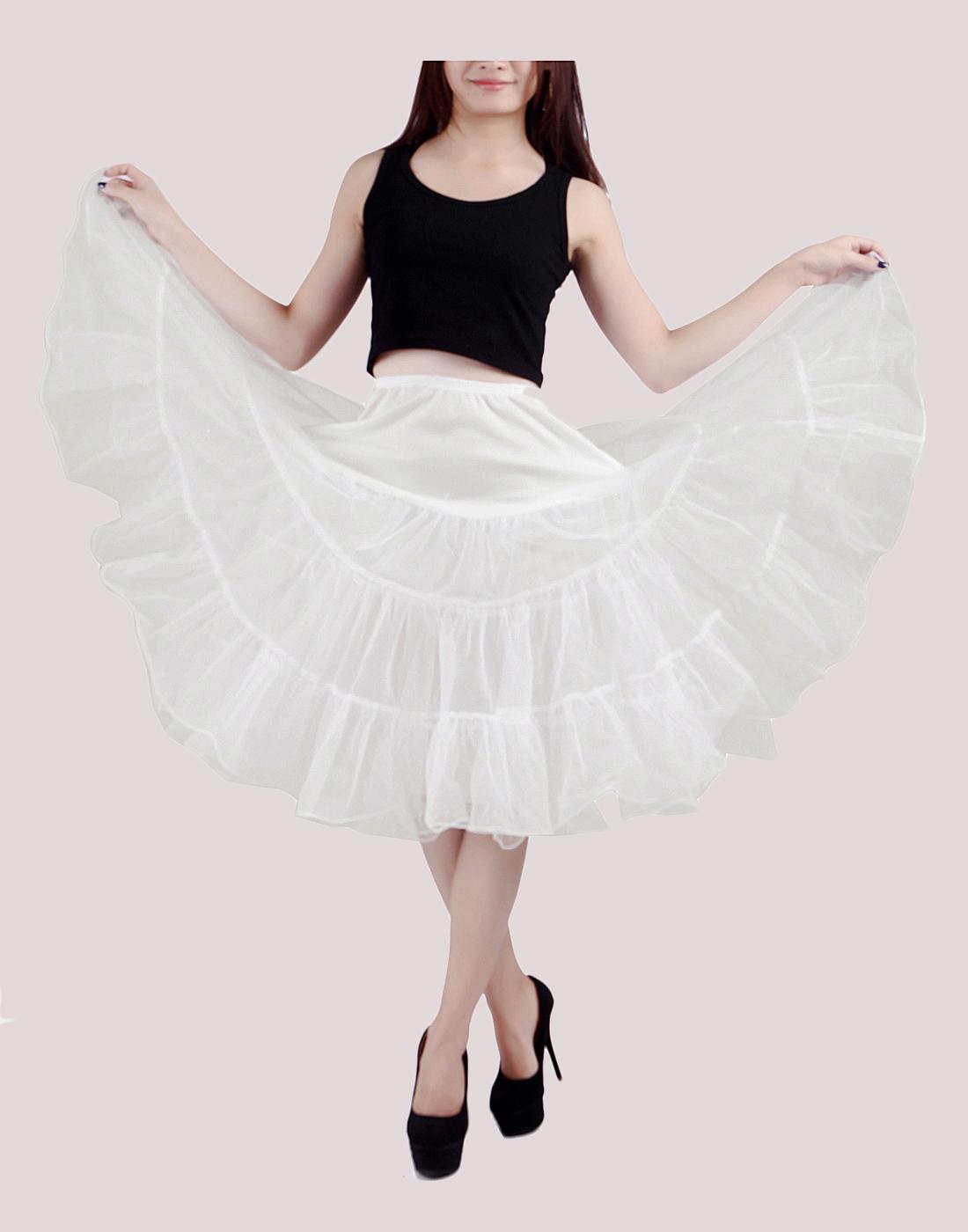 HDE - Women\'s Plus Size Petticoat Vintage Swing Dress ...