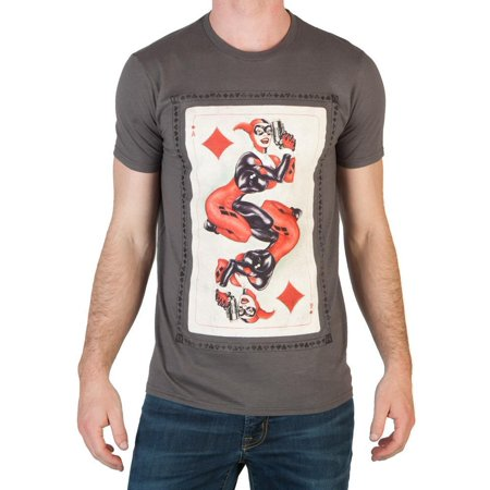 Heroes & Villains Harley Card T-Shirt-XX-Large