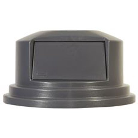 Brute Dome Trash Can Lid For 55 Gallon Containers Gray 272X145 In
