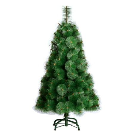 TEKTRUM 4-feet LONG NEEDLE PINE ARTIFICIAL CHRISTMAS TREE FOR CHRISTMAS/ HOLIDAY/PARTY (Model TD-SYCT-1623C) - Walmart.com