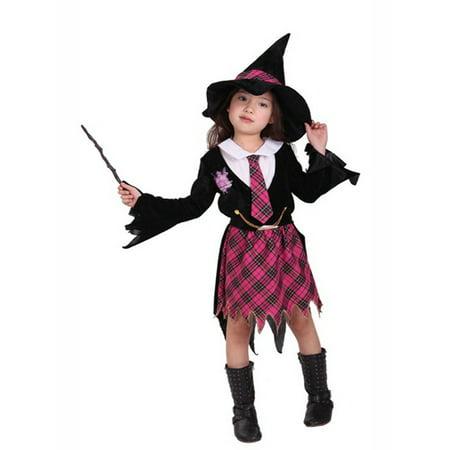 Little Girls Magician Halloween Costume Party Dress Xl10 12 Years