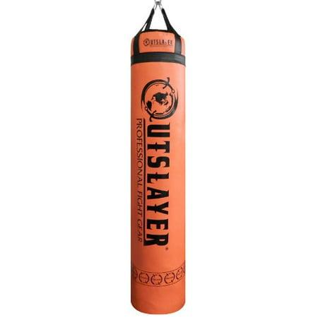 Muay Thai Body (Muay Thai Punching Bag 6ft Orange (Unfilled))