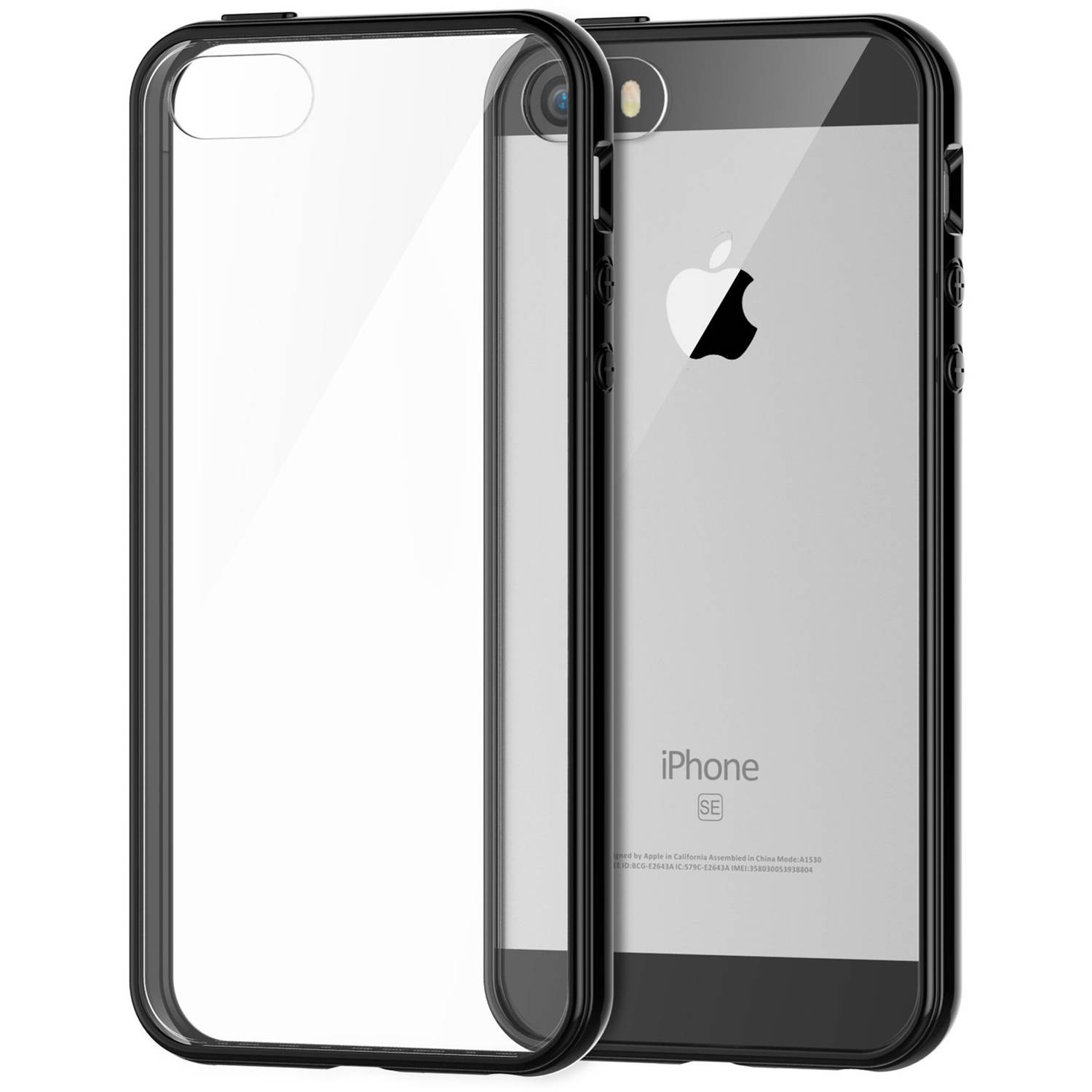 JETech Apple iPhone 5/5S/SE Case with Shock-Absorption Bumper