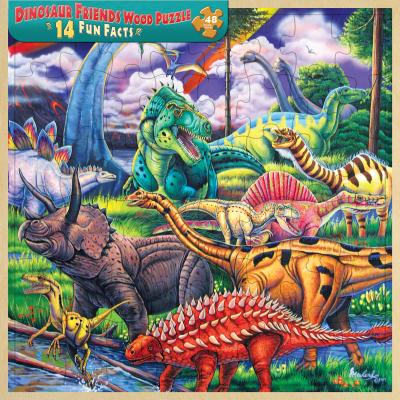 MasterPieces Dinosaur Friends 48 Piece Puzzle