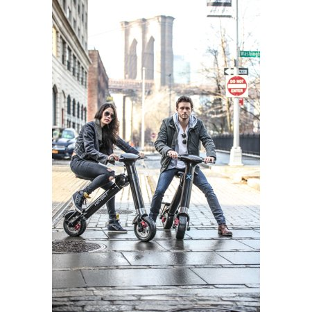 Hover-1 XLS UL Certified Electric Bike Folding Electric Bike w/ LED Displays
