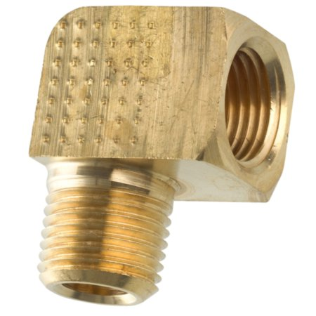 American Grease Stick (AGS) Brass Street Elbow, Male (1/8