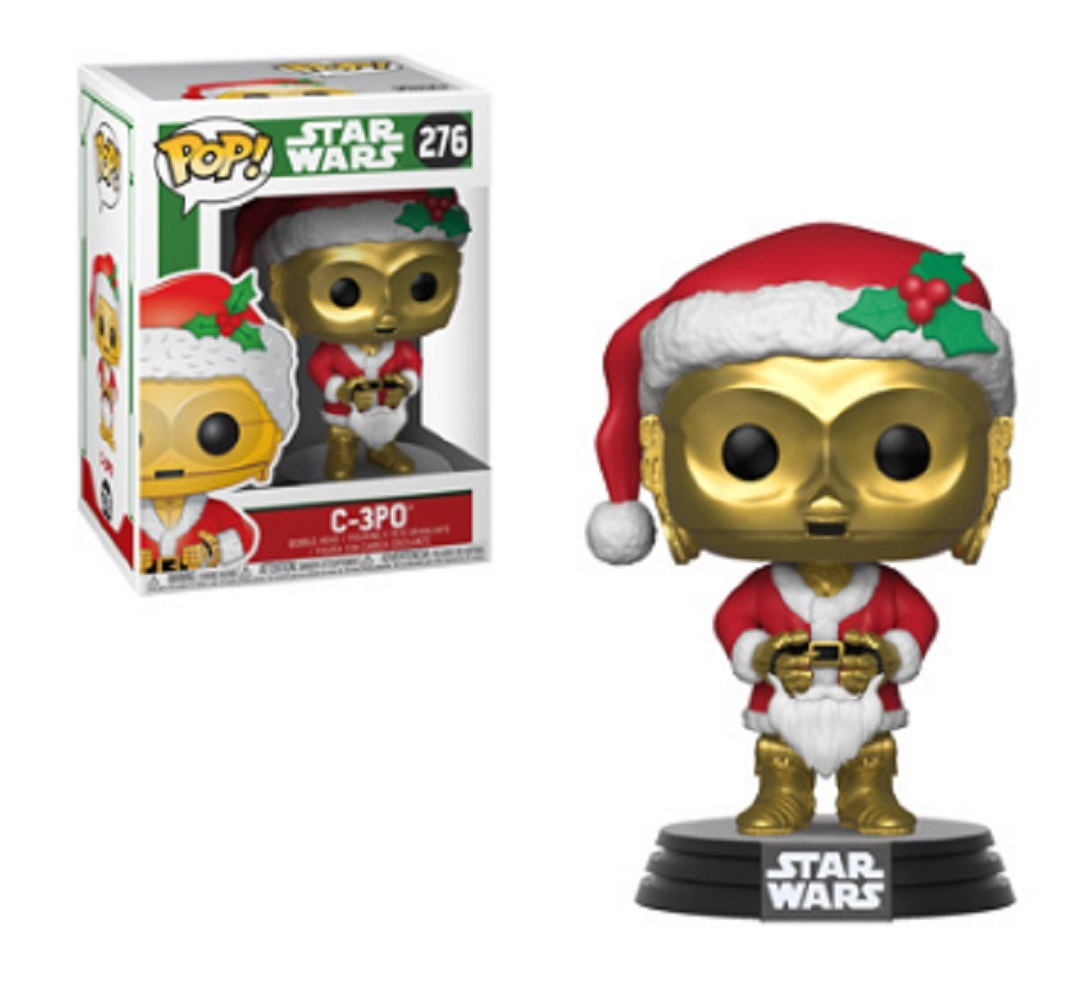 Funko POP - Star Wars - Holiday - C3PO as Santa - Vinyl Collectible Figure