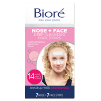 Biore Deep Cleansing Pore Strips Combo Pack, 14 Count
