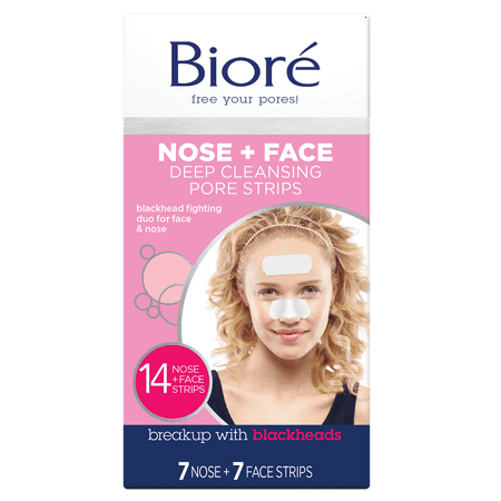 - Biore Deep Cleansing Pore Strips Combo Pack, 14 Count