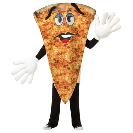 Pizza Waver Adult Mascot Costume - Pizza Costume Amazon