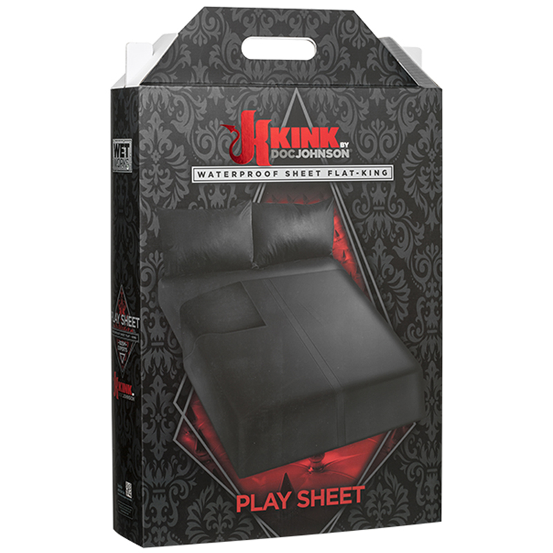 Kink Wet Works Waterproof Bedding King - Flat Black