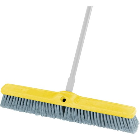 "Rubbermaid Commercial, RCP9B0200GY, Fine Floor Sweep 24"" Foam Block, 1 Each, Gray"