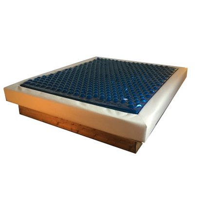 Strobel Mattress Sof-Frame Complete 20\'\' Soft-side Waterbed Mattress ...
